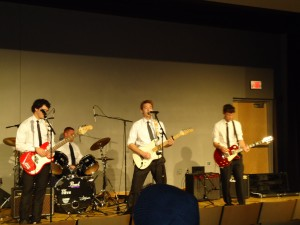 My band, The Week Knights, playing at the Splash: Sustenance benefit concert on November 6th.