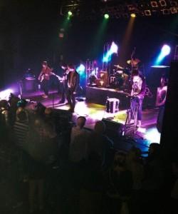 Gojira performing in Atlanta.