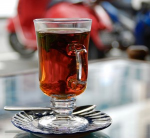 Mint tea from Arab Street in Singapore. (Credit: Amanda Etchison)