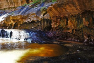 """Hiking """"The Subway"""" in Zion National Park"""