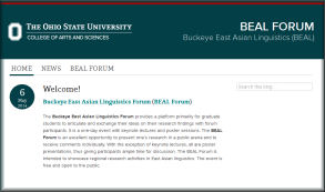 BEAL Forum website image