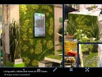 Living  walls, tabletops and more