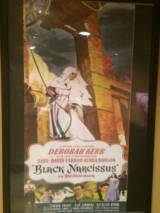 A poster for Black Narcissus (1947). This was by far one of my favorite films.