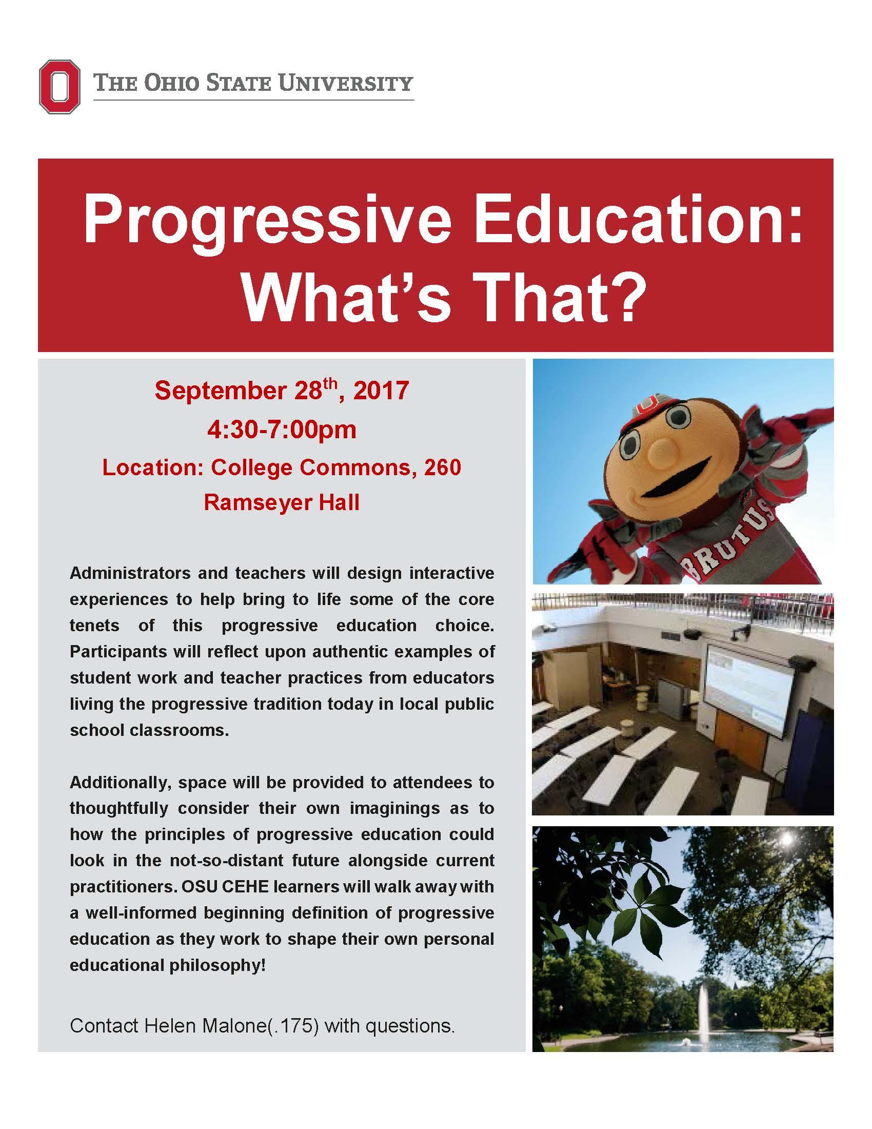 progressive distant student discount  Wickliffe Progressive Education Flyer-1ljisr6 | Department of ...