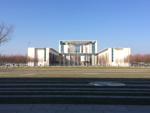 German Chancellery (Modern building housing government)