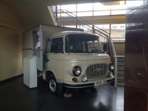 GDR Prison Truck at Berlin, Germany