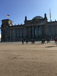 Reichstag Parliament Building in Berlin