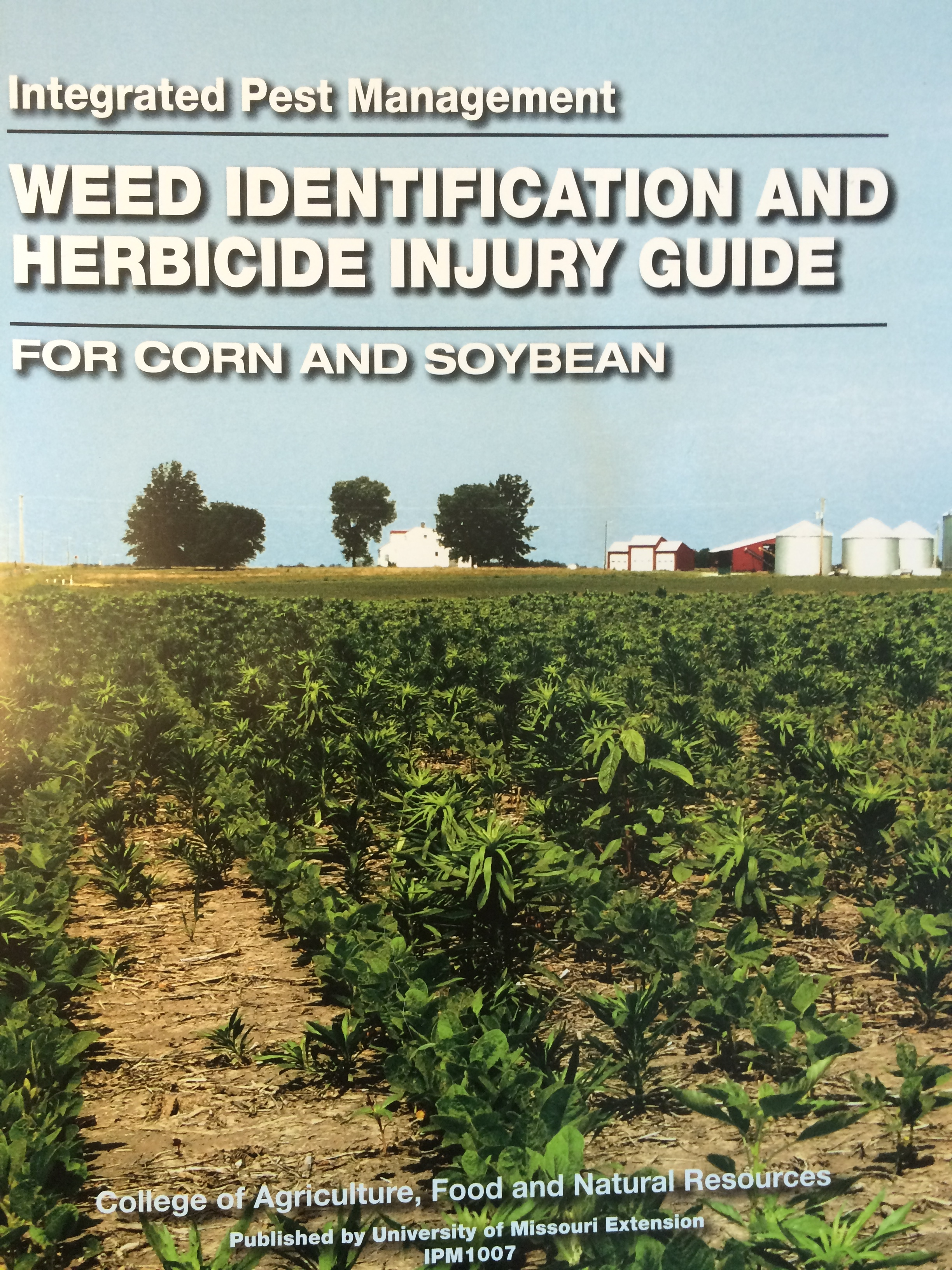 weed identification book