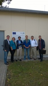 The OSU/Gemini Team meeting with Dr. Bochert.