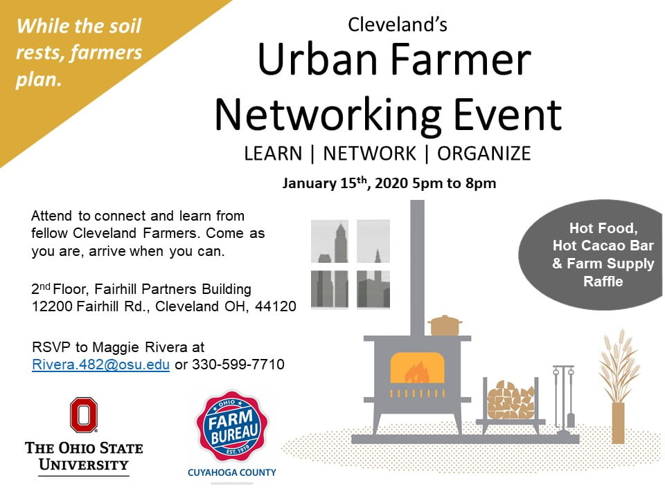 Urban Ag Networking Event Flyer