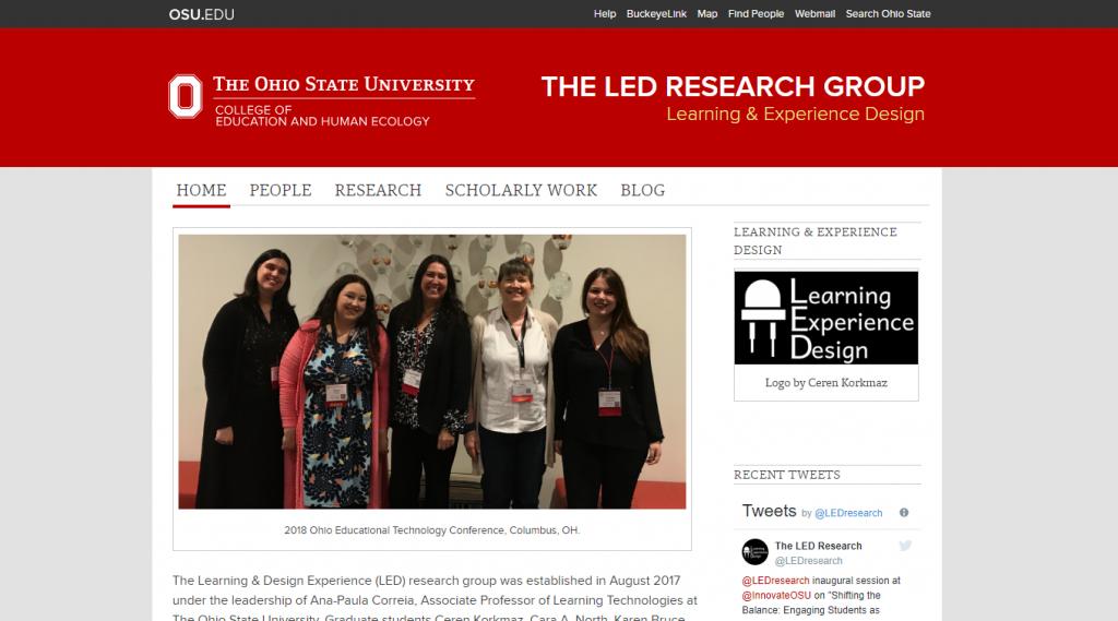 LED Website