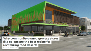 Community-owned Grocery in Detroit