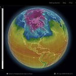 Updates to and Sharing of Fluid Earth Viewer