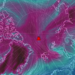 Track the location of the RV Polarstern near the North Pole