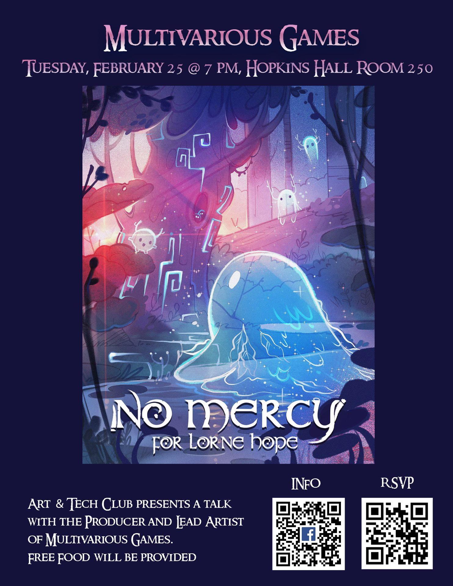 poster for multivarius games event