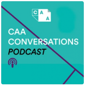 Brand image, CAA Conversations Podcast, from College Art Association