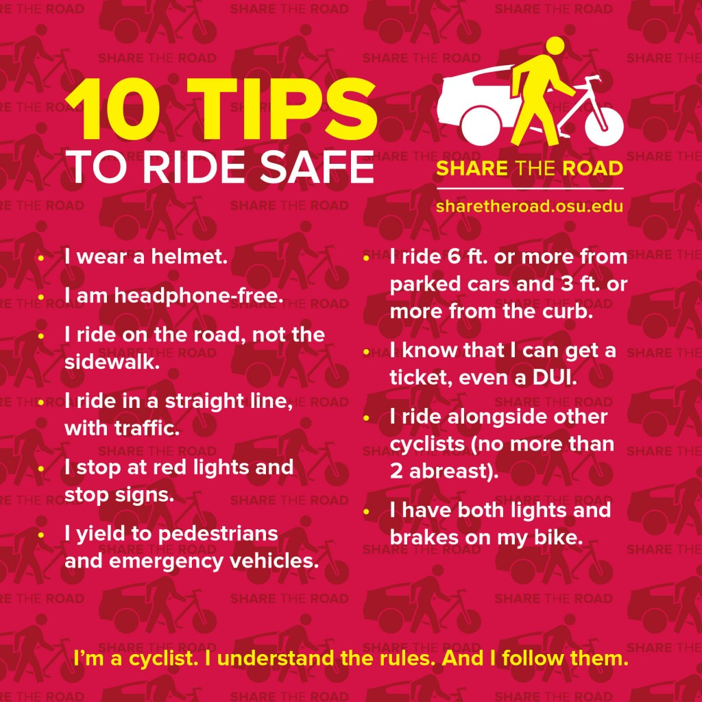 Share the Road Bike Tips