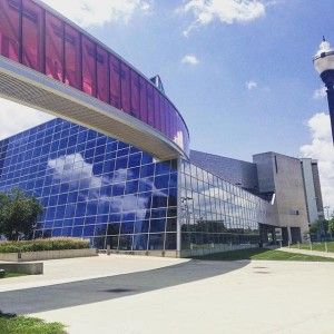 I go to the RPAC to workout my stress and stay fit.