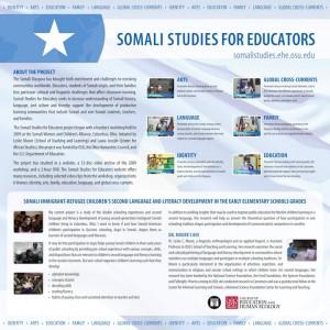 Somali Studies poster image