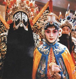Still for the movie Farewell to My Concubine photo source: movies from wapbike.baidu.com