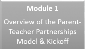 Link to Module 1: Overview of the Parent-Teacher Partnerships Model and Kickoff