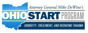 Logo for Attorney General Mike DeWine's OhioSTART Program: Sobriety, Treatment and Reducing Trauma