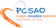 Logo for PCSAO: Public Children Services Association of Ohio