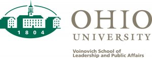 Logo for the Voinovich School of Leadership and Public Affairs at Ohio University