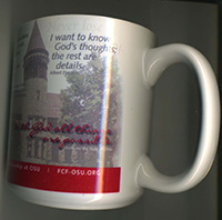 Right side of coffee mug