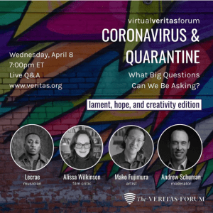 Coronavirus & Quarantine: The Economy, Career, & Jobs Edition What Big Questions Can We Be Asking? flyer photo for third session