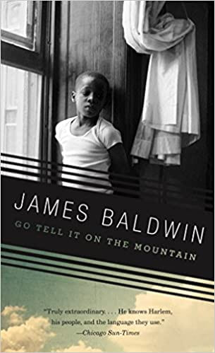 The book cover for James Baldwin's Go Tell It On The Mountain