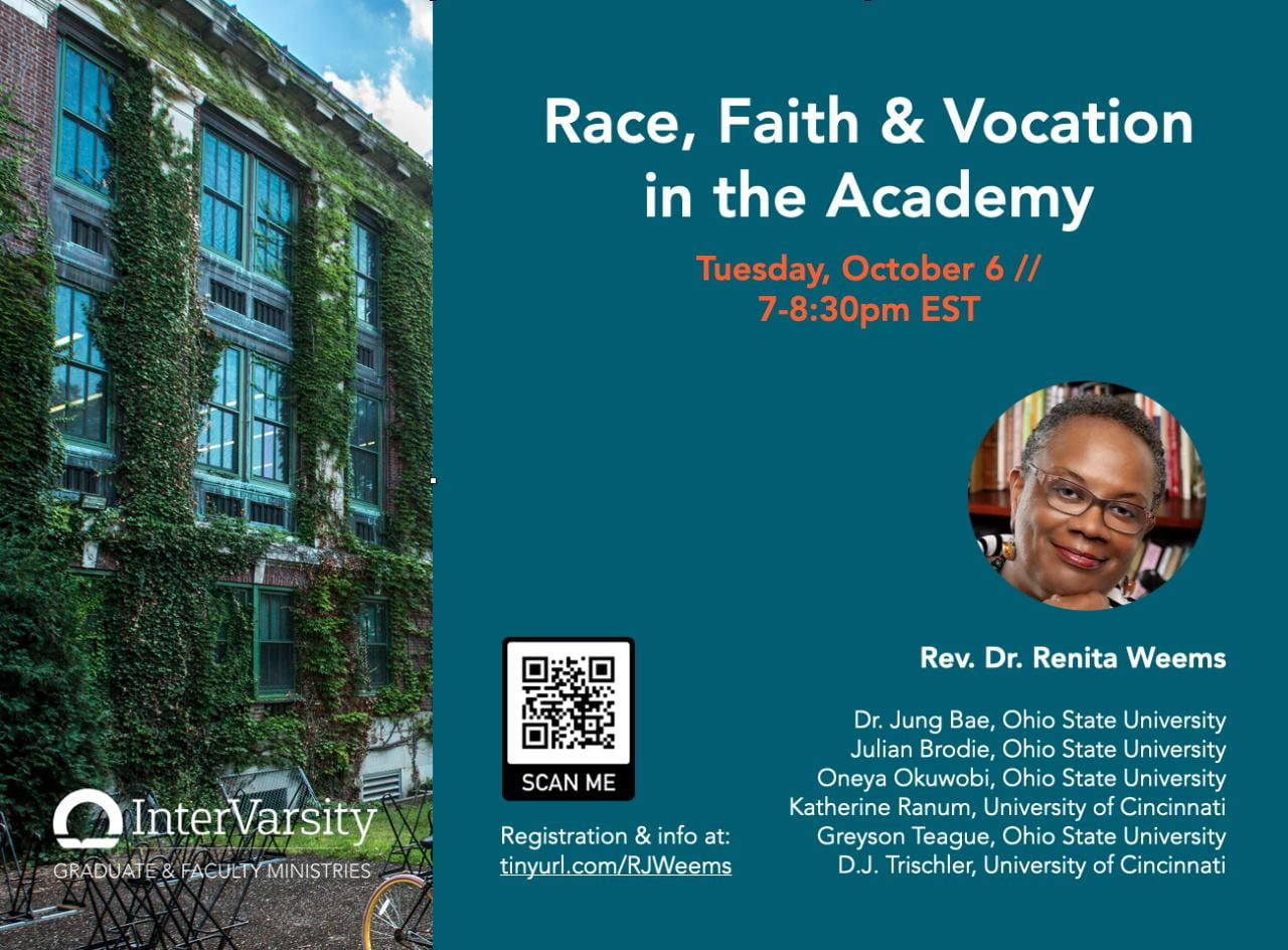 Campus Conversation: Race, Faith, and The Academy flyer