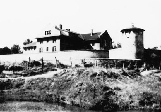 Photo of Weihsien Internment Camp exterior