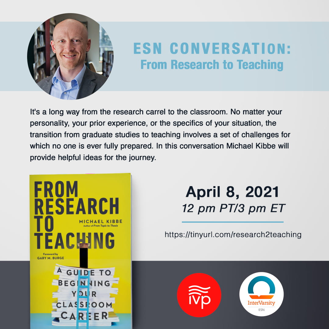Flyer for From Research to Teaching