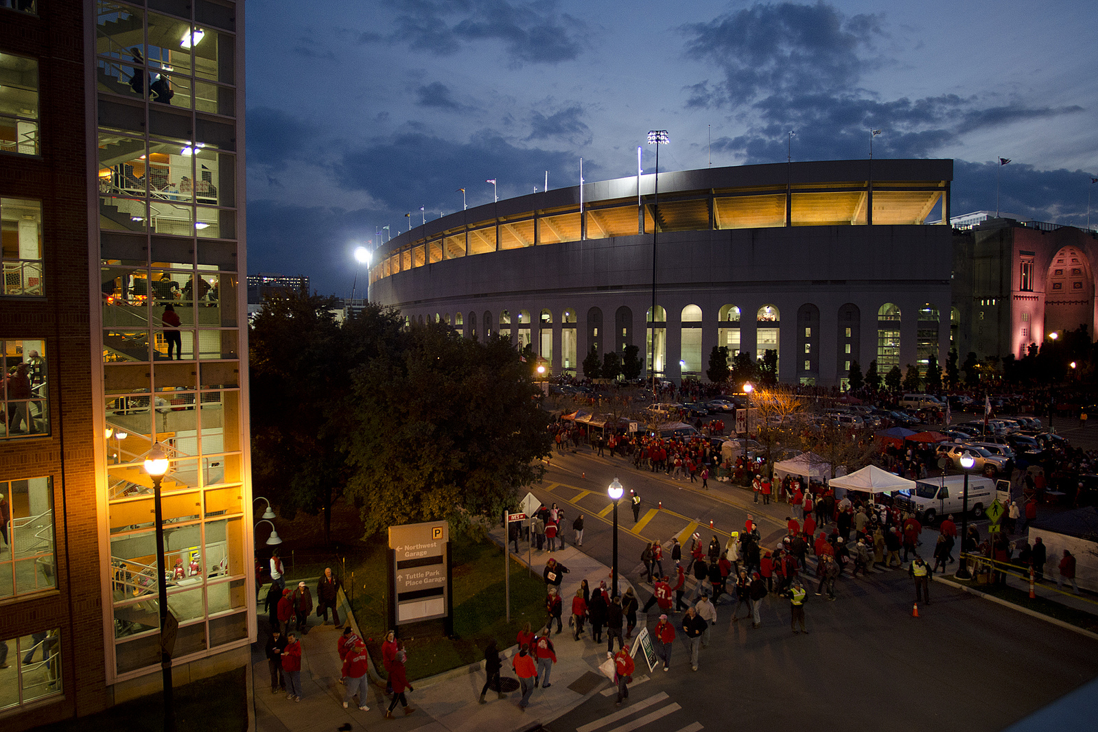 Saturday tailgate on the terrace ohio state cheme 2013 for The terrace hall