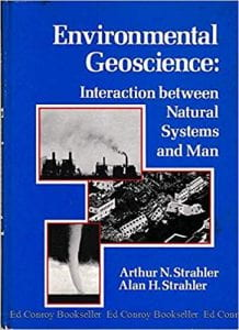 Book cover for Environmental Geoscience: interaction between Natural Systems and Man