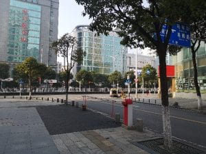Lockdown of Wuhan in January