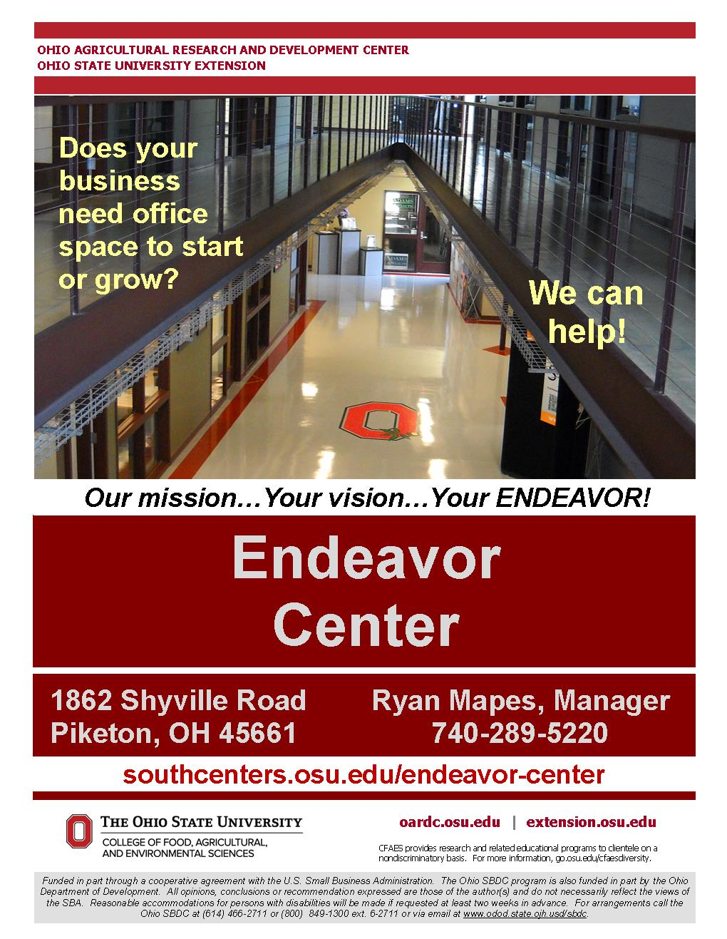 OSU Endeavor Center