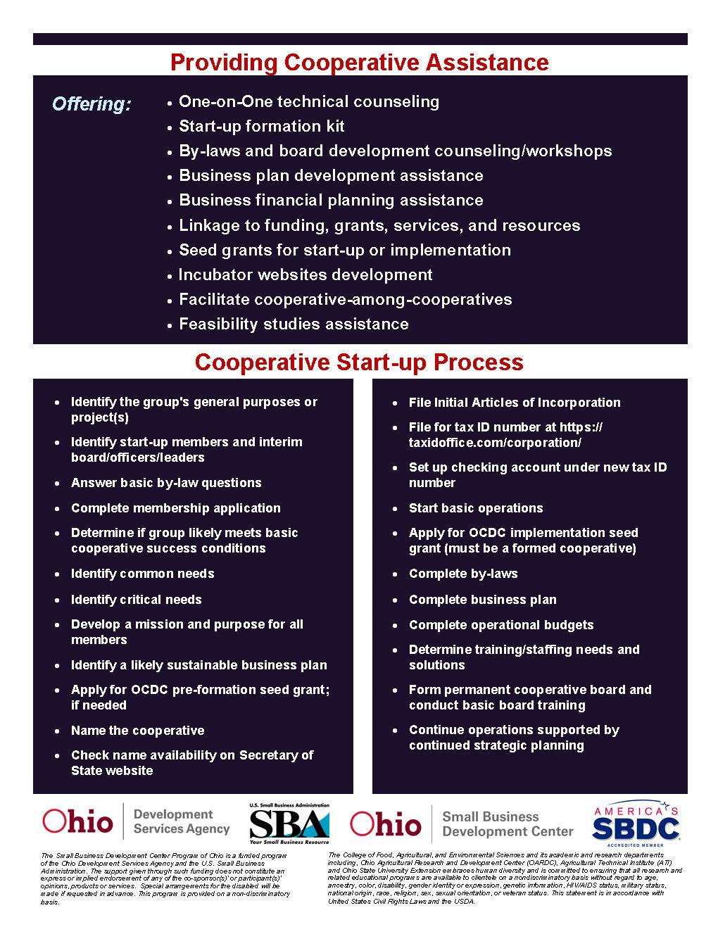 Check availability of business name ohio - Ohio Cooperative Development Center Ohio Cooperative Development Center 2