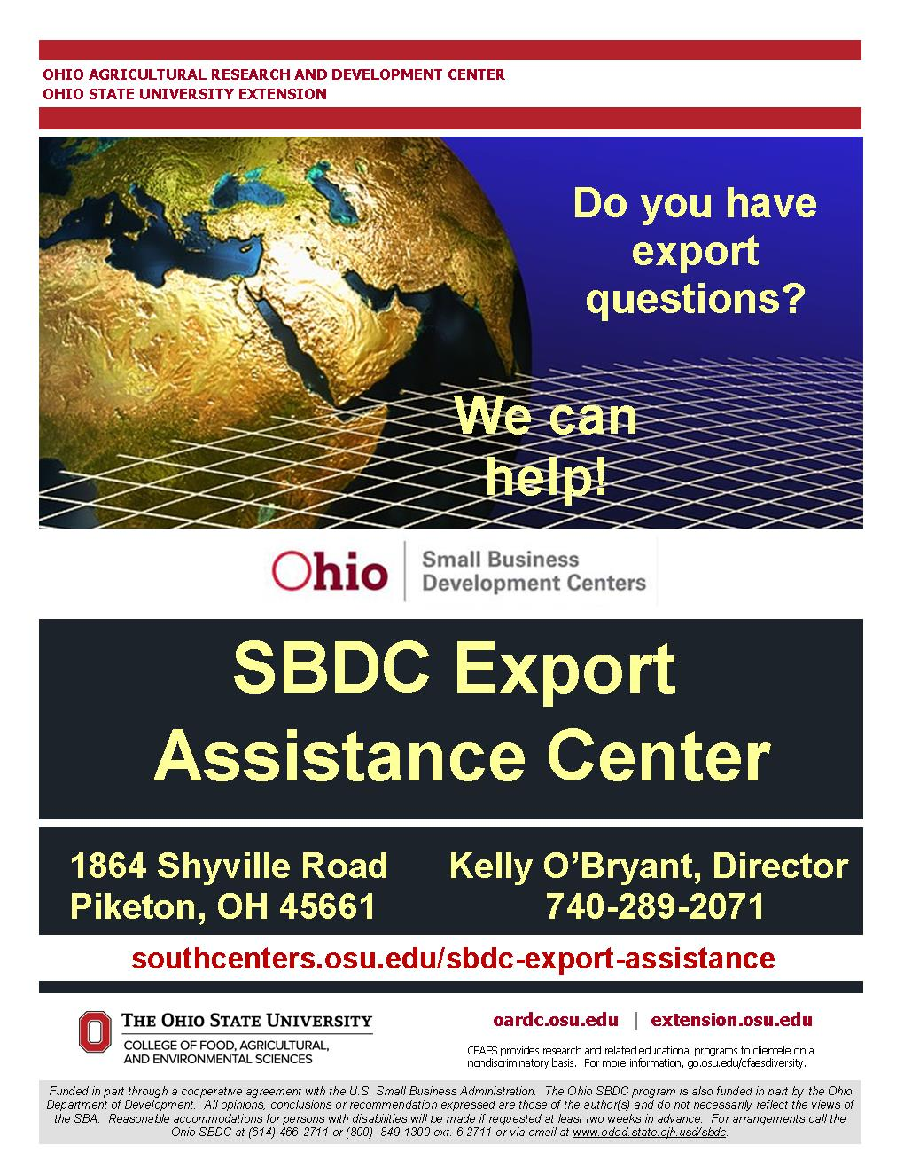 SBDC Export Assistance Center