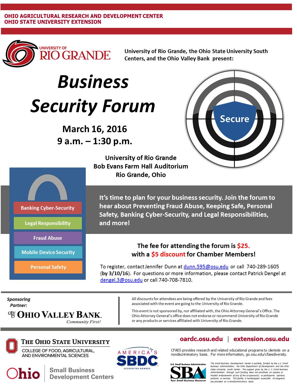 2016 3-16 Business Security Flyer2