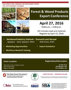 2016 4-27 Forest Wood Products Export Conf