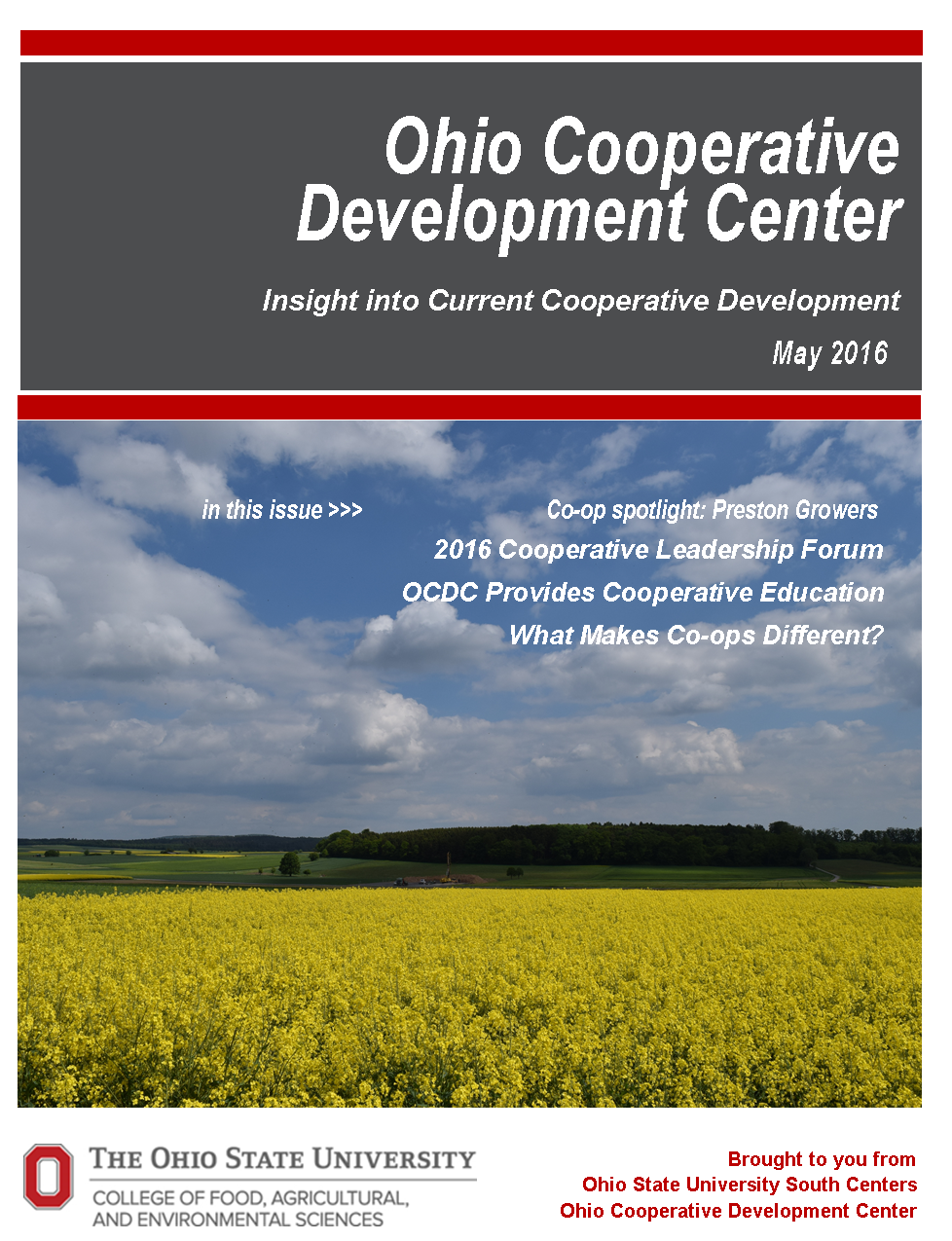 May 2016 OCDC Newsletter cover pic