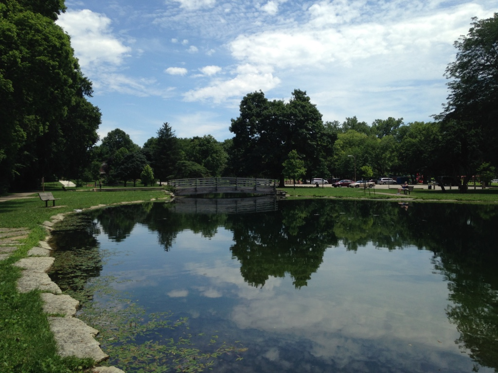 The olentangy trail columbus to do list for Fishing ponds columbus ohio