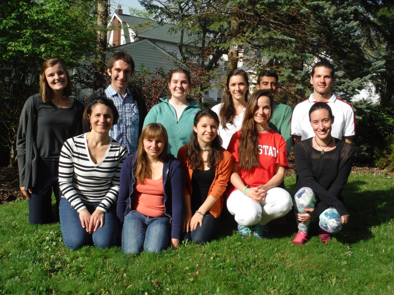 Grottoli Lab Group 2016