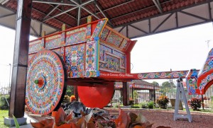 Biggest ox cart in the world in Sarchi.