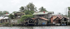 This village along the river in Tortuguero held a small disco where we hung out at night.