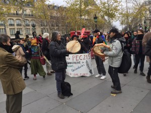 Idle No More France was present