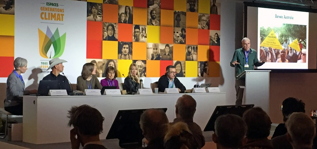 """Panel on """"Keeping fossil fuels in the ground: the international movement to ban fracking"""""""