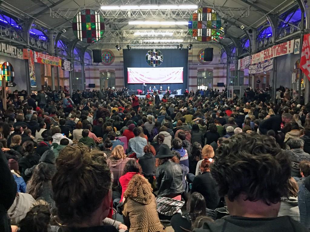 3,000 people ready to hear Naomi Klein.